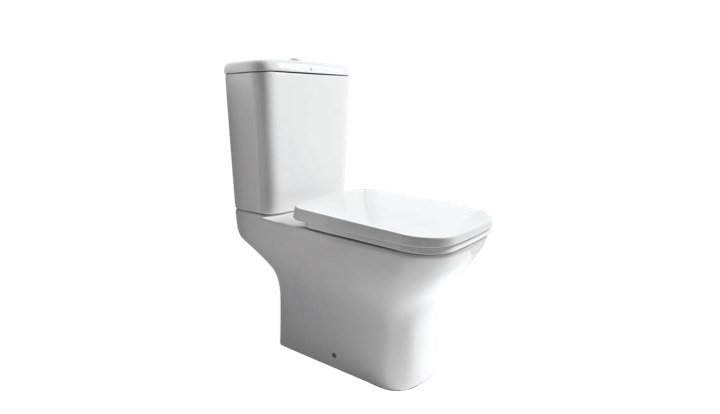BC 381 - Closed-Couple Toilet