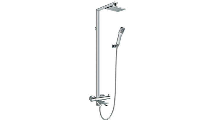 BF 220 566S - Thermostatic Shower Column Mixer