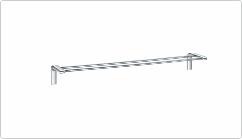 BFA 28927 - BRASS DOUBLE TOWEL BAR