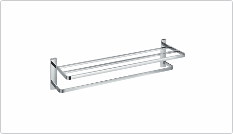 BFA 38910 - BRASS TOWEL SHELF
