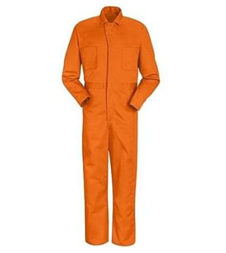 Áo liền quần màu cam