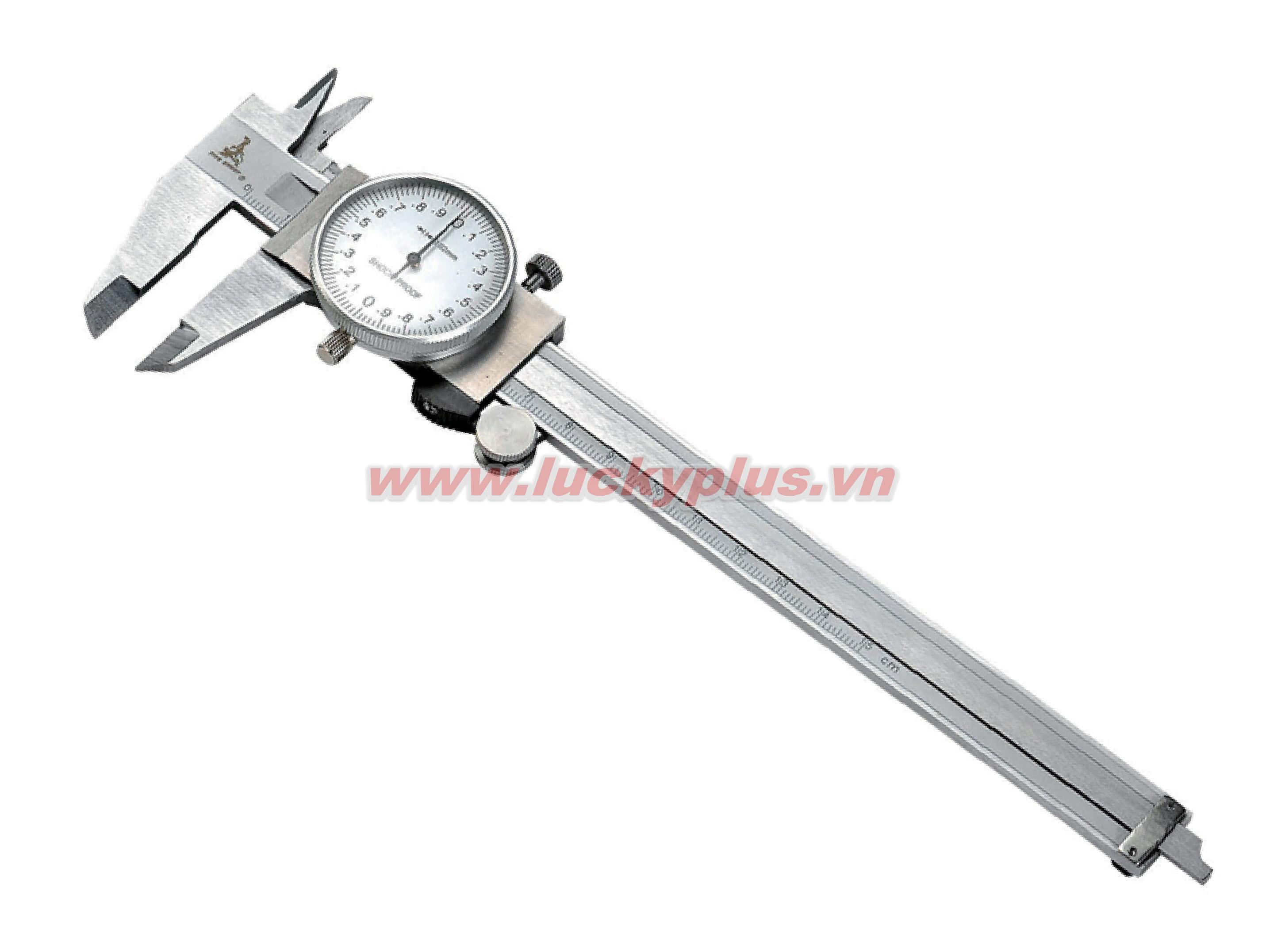 Thước kẹp quay số FiveSheep FS-0607 0-150mm, FS-0608 0-200mm