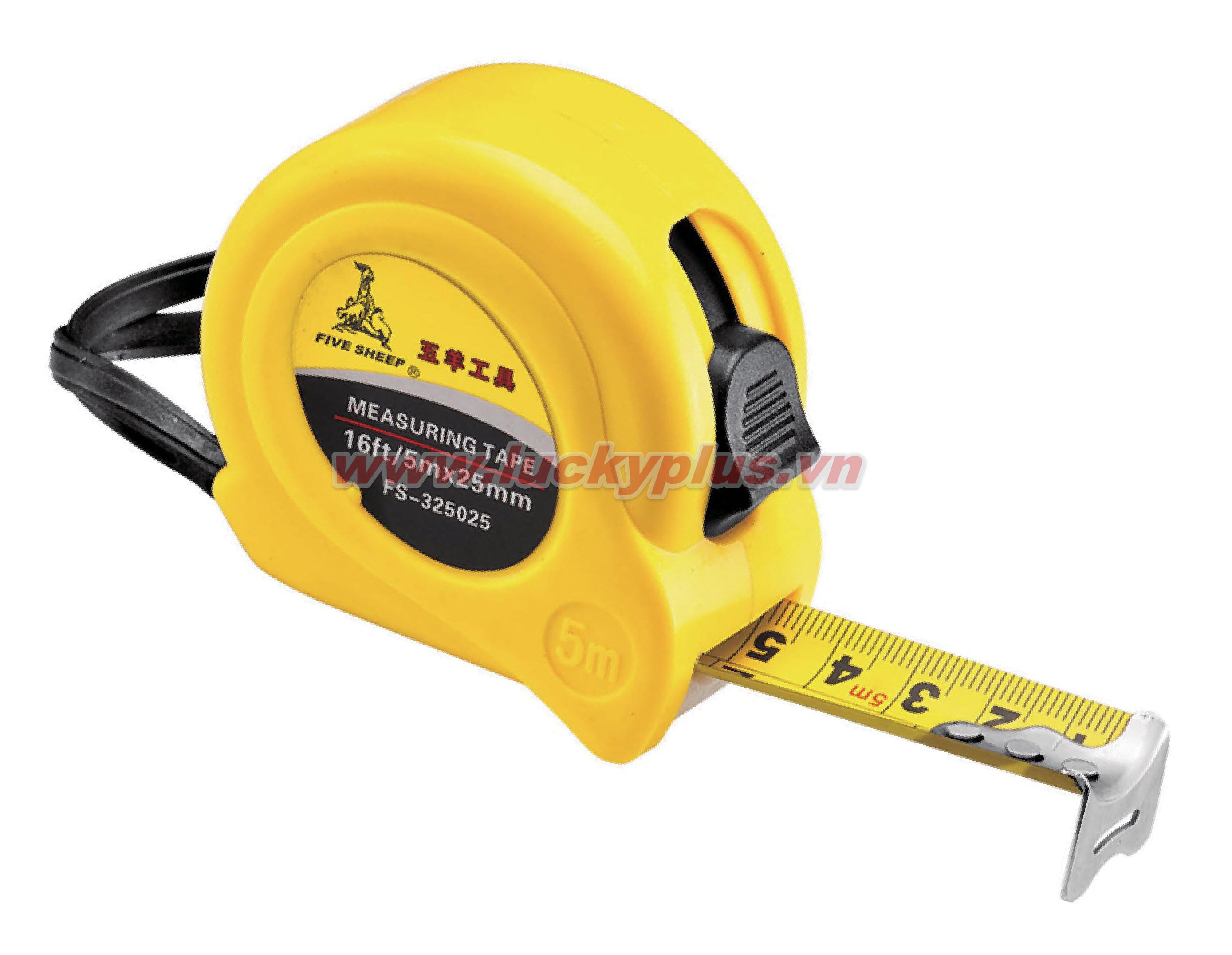 Thước mét (thước rút) FiveSheep FS-323016 3mX16mm, FS-325019 5mx19mm...