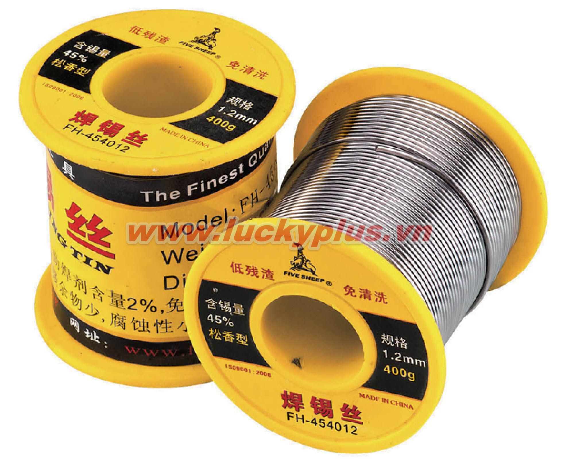 Thiếc hàn FiveSheep FH-45408 400g, FH-45410 400g, FH-45412 400g