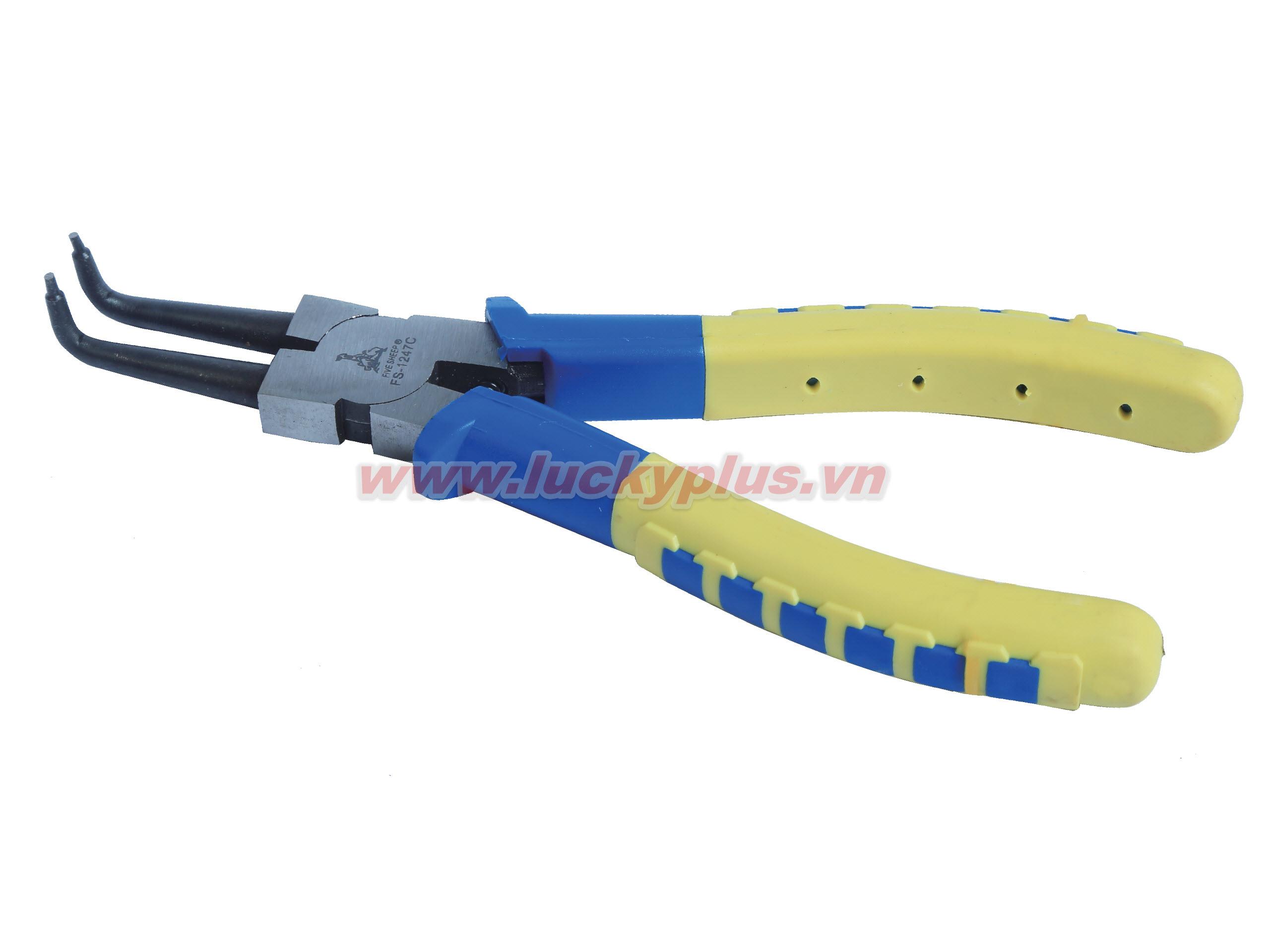 Kìm kẹp xoay FiveSheep FS-1247A 7''/180mm, FS-1247B 7''/180mm, FS-1247C 7''/180mm, FS-1247D 7''/180mm