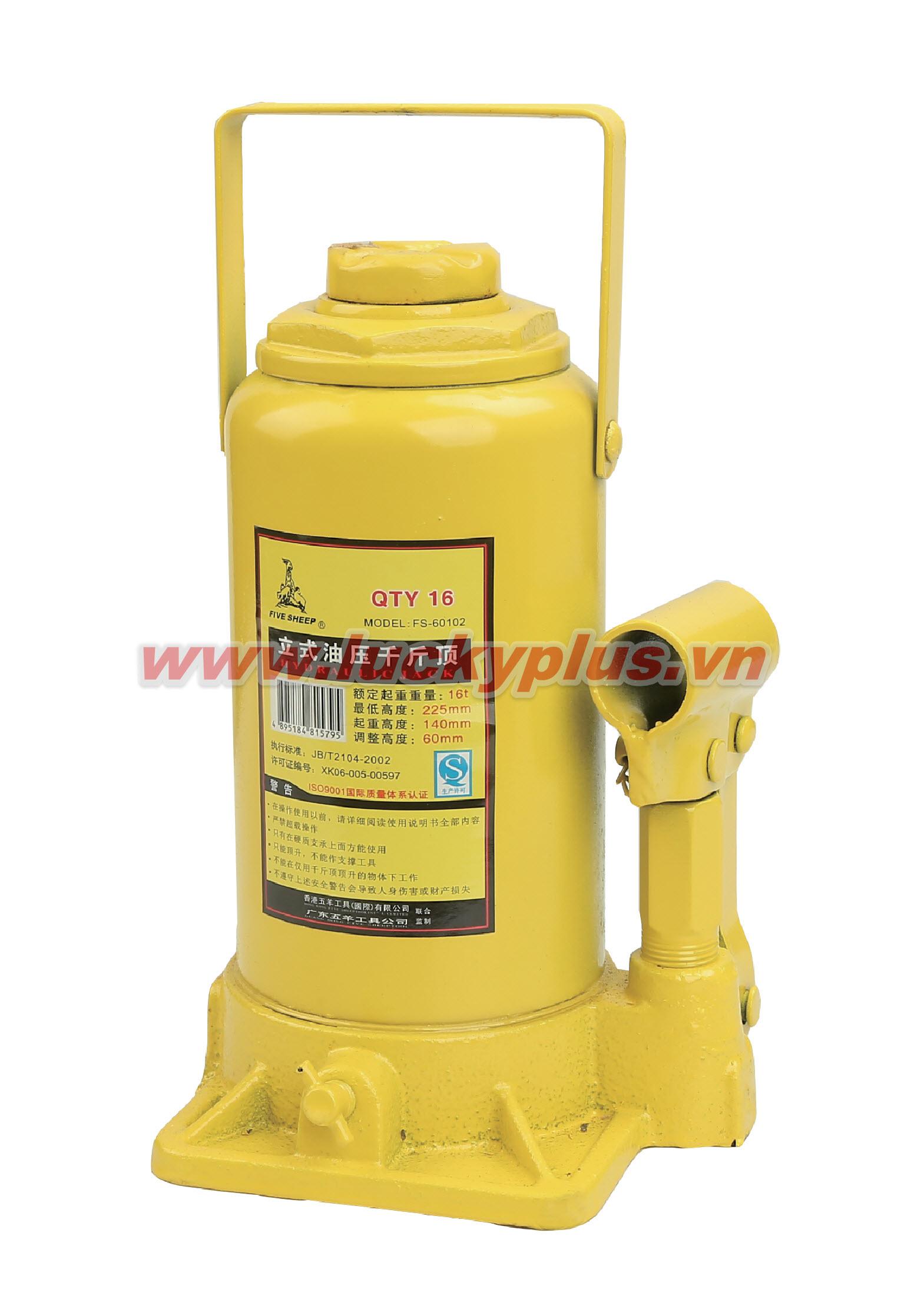 Kích thủy lực FiveSheep FS-60102 2T, FS-60104 4T, FS-60106 6T, FS-60108 8T…