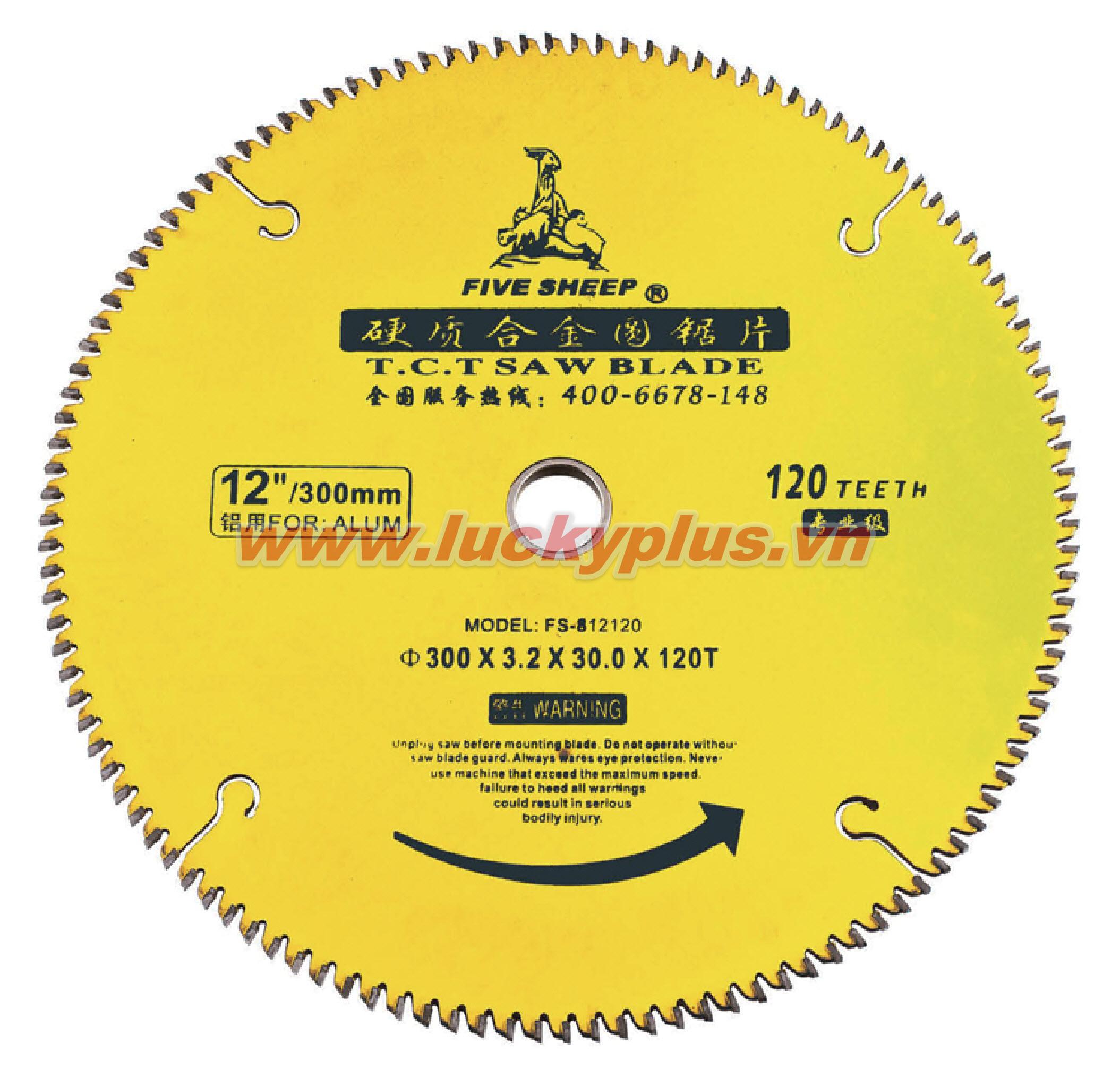 Lưỡi cắt FiveSheep FS-8404030 4''*30T, FS-8404040 4''*40T, FS-8407040 7''*40T, FS-8407060 7''*60T…