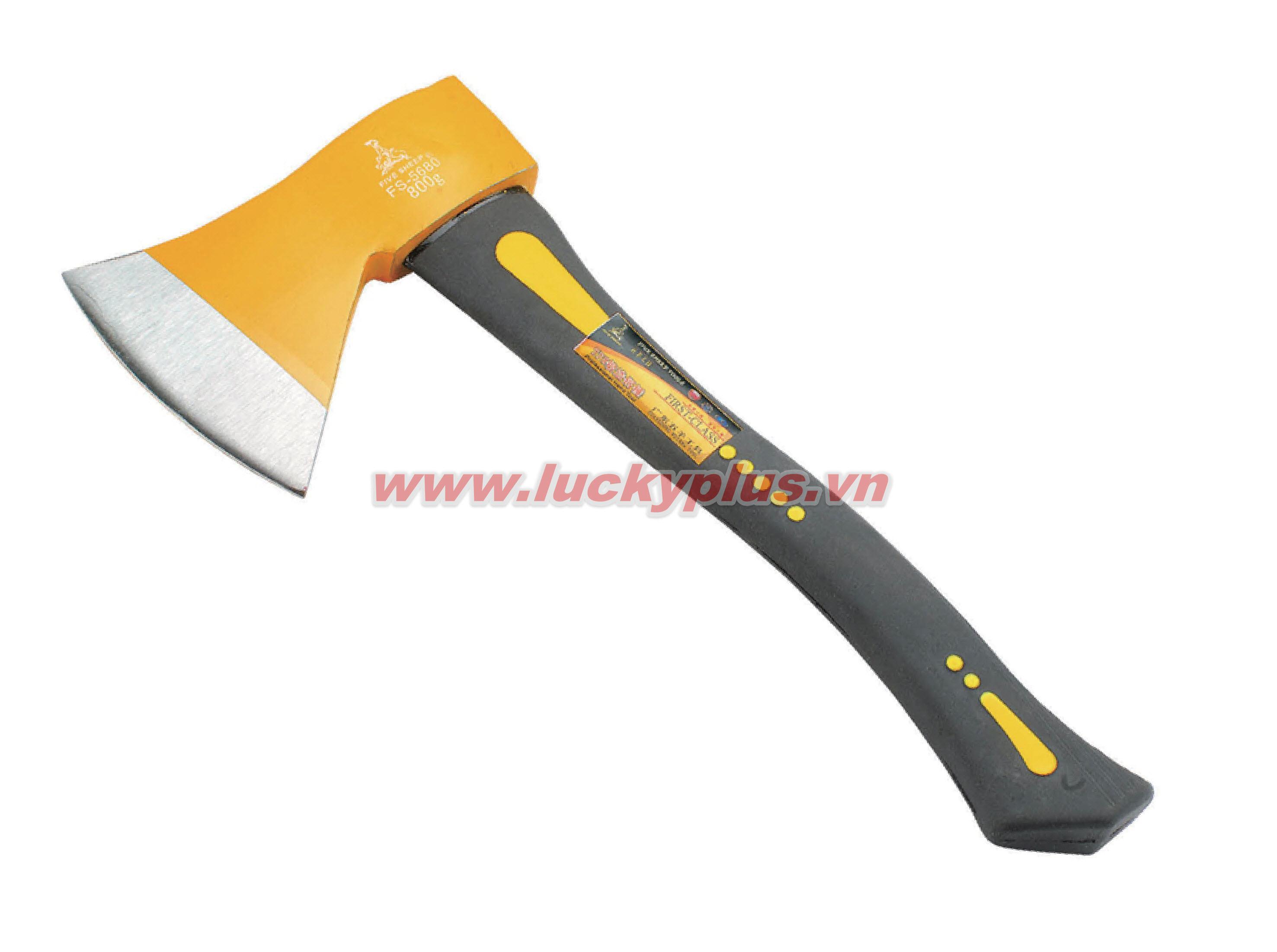 Rìu tay cầm bằng sợi xử lý FiveSheep FS-5660 600, FC-5580 800, FS-56125(R) 1250