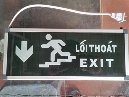 Đèn exit chỉ hướng 1 mặt HW-128LED