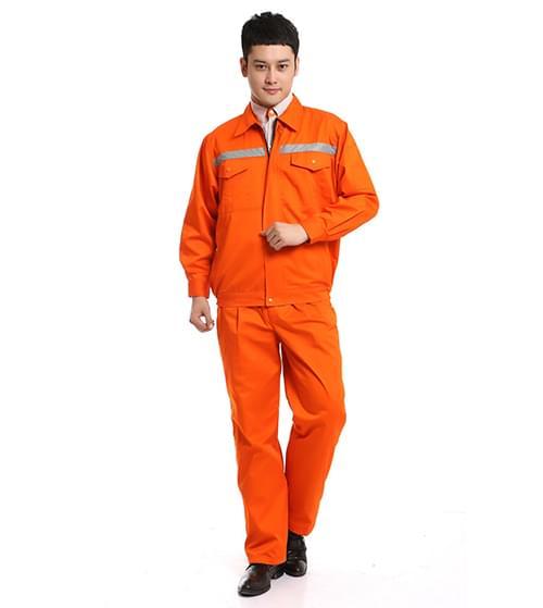 Quần, áo bảo hộ màu cam mùa đông