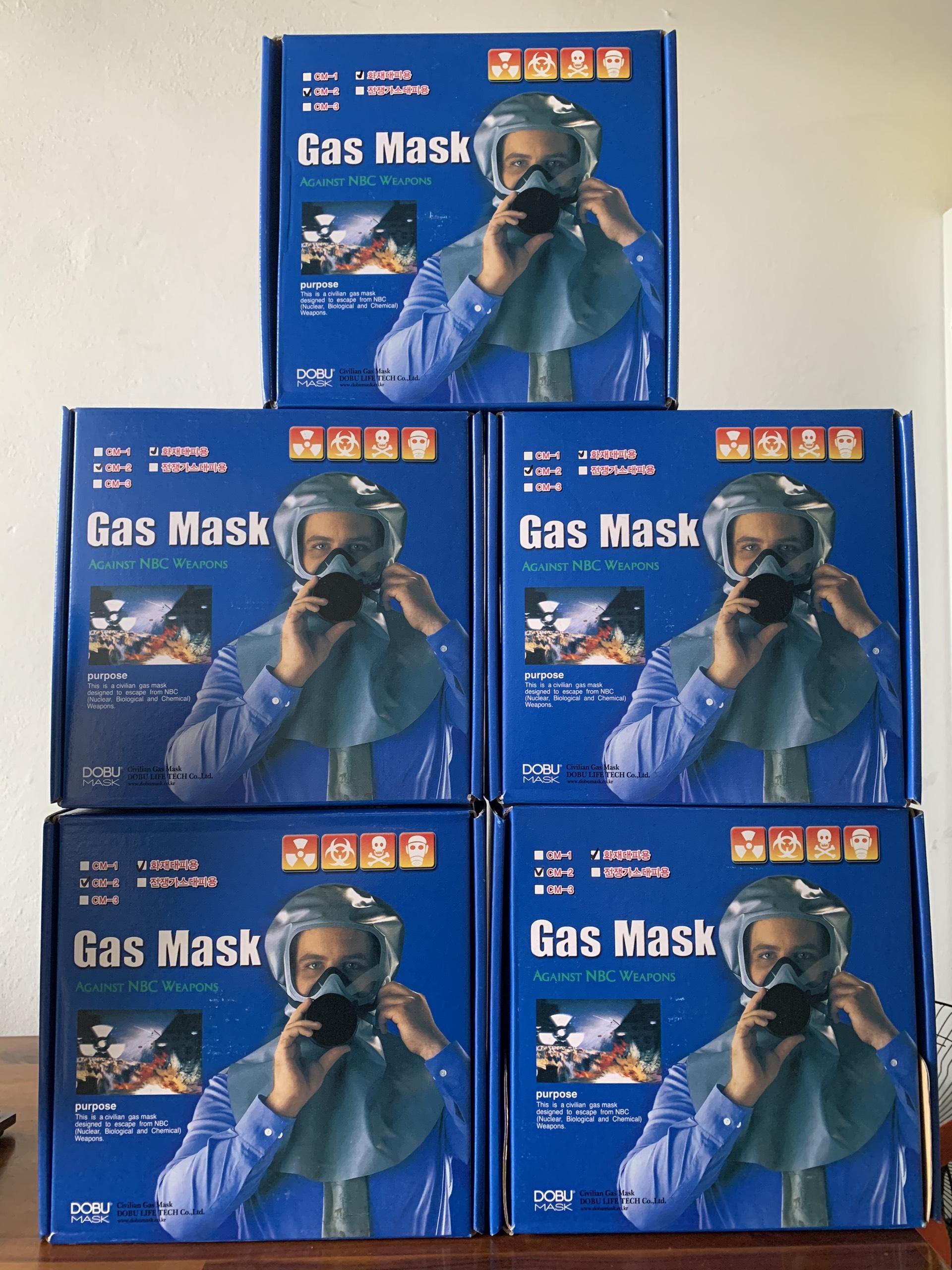 Mặt nạ phòng khói độc cao cấp CM2 DOBU MASK Hàn Quốc