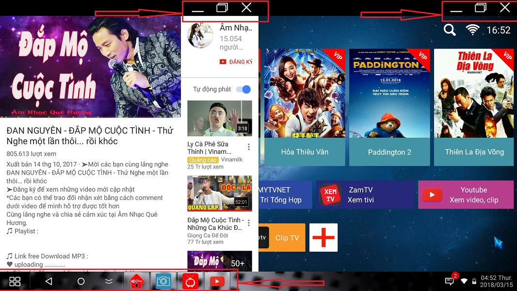 BIG UPDATE - ANDROID 5.1 MULTI WINDOW : LENOVO MINISTATION VXC10