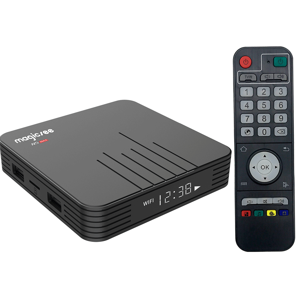 Android TV Box Magicsee N5 Max – Android 9.0, Chip Amlogic S905X3