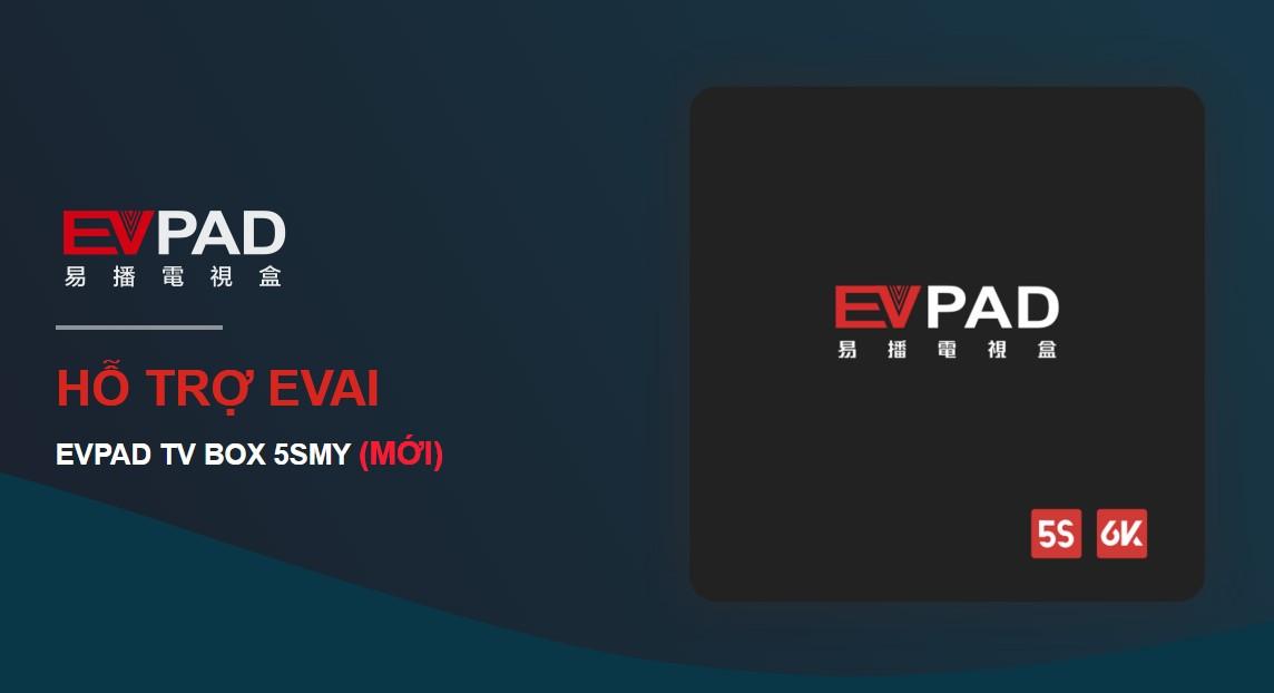 Evpad 5S 2021 xem truyền hình quốc tế Nhật, Hàn, Trung, Đài Loan... Fr - 1
