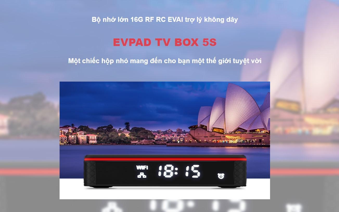 Evpad 5S 2021 xem truyền hình quốc tế Nhật, Hàn, Trung, Đài Loan... Fr - 2