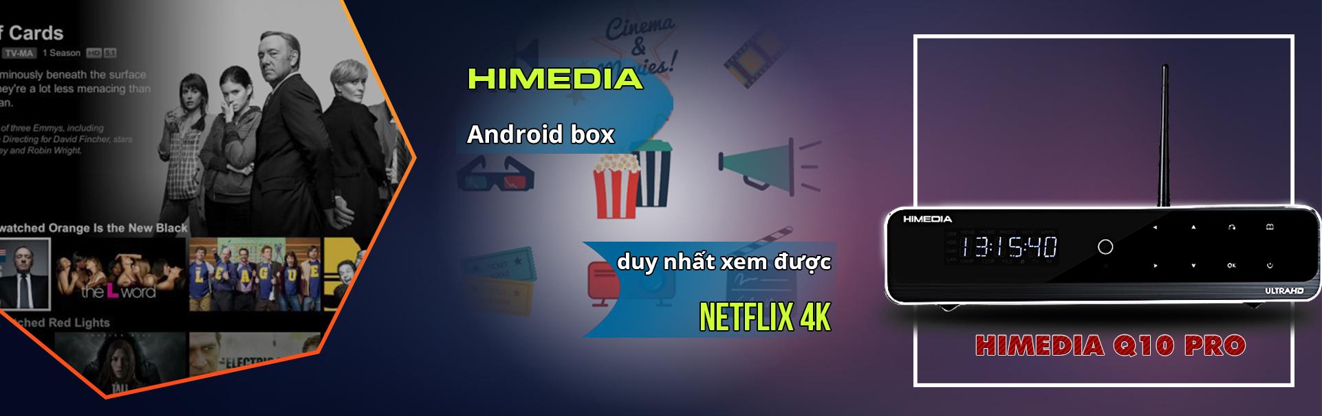 android box xem netflix 4k