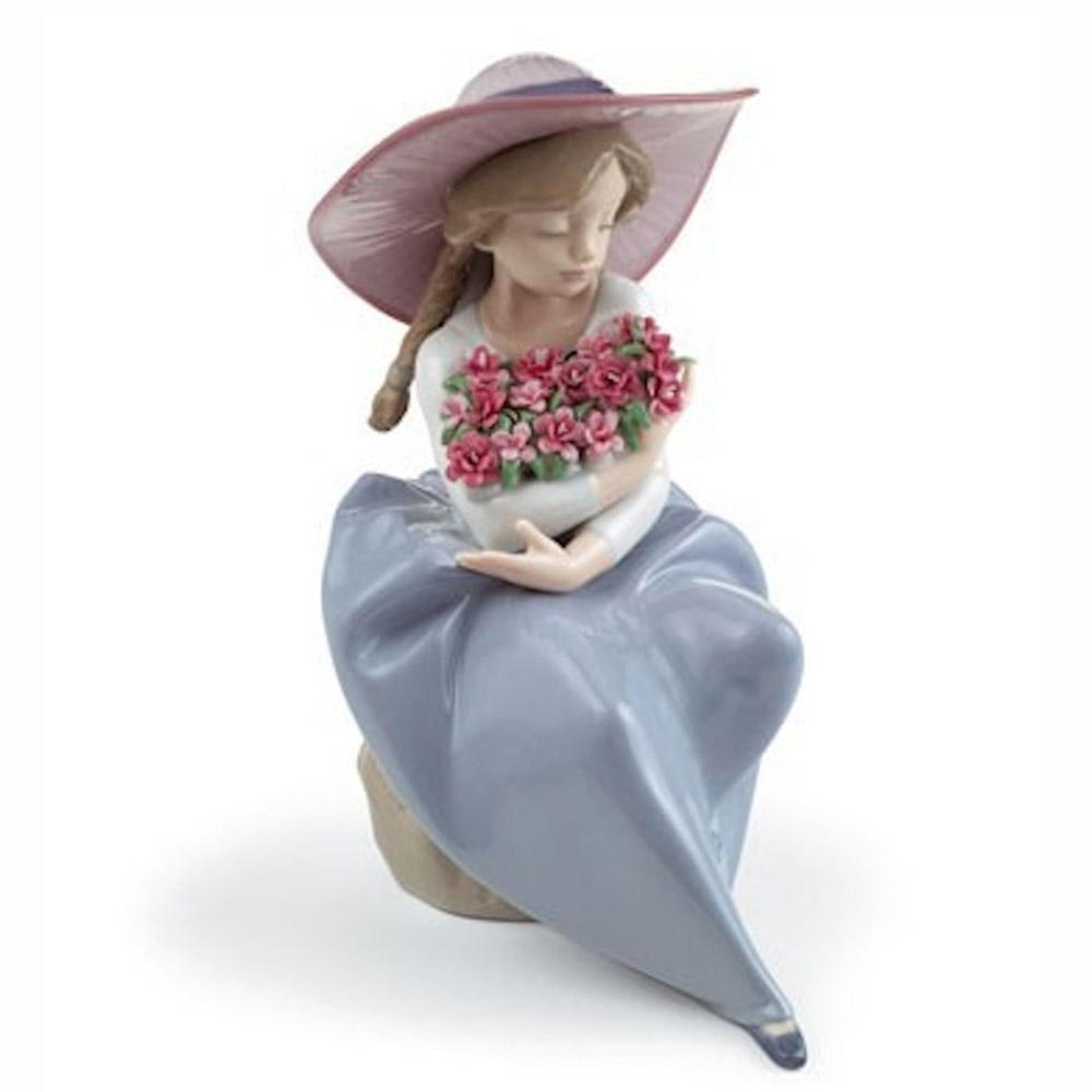 Tượng hoa thơm (cẩm chướng)