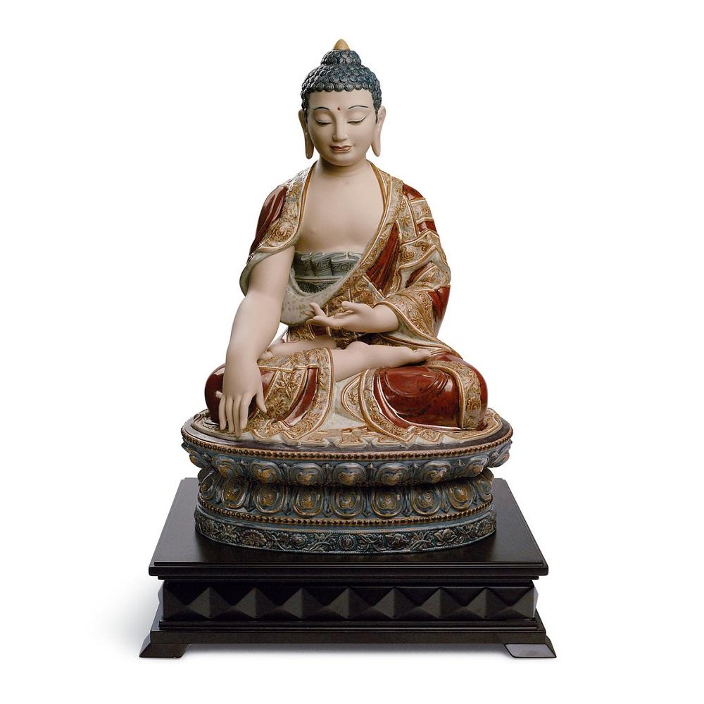 Tượng Phật thích ca mâu ni màu đất