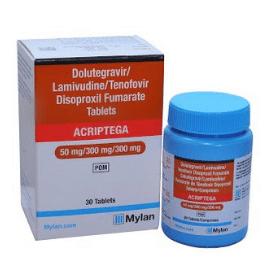 Acriptega - thuốc mới điều trị HIV