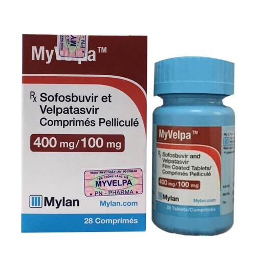 MyVelpa điều trị viêm gan C hiệu quả