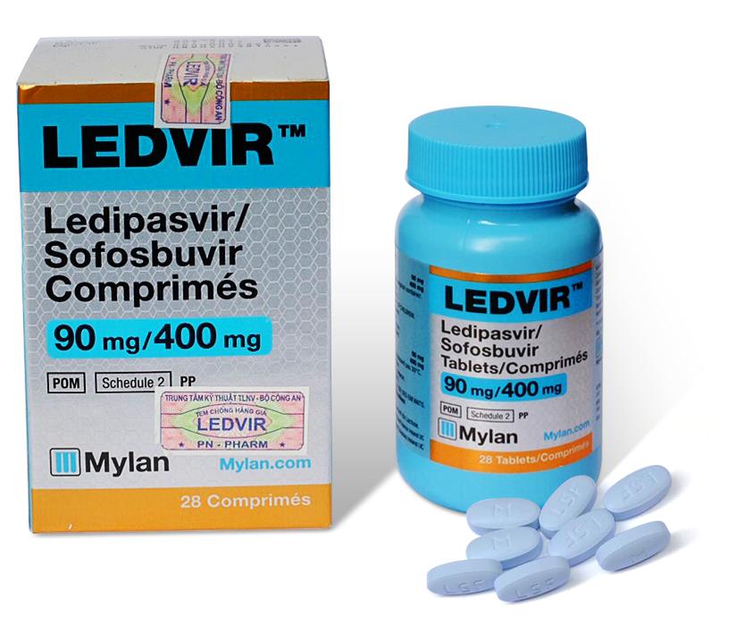 Ledvir - Thuốc nhập khẩu điều trị viêm gan C (2016)