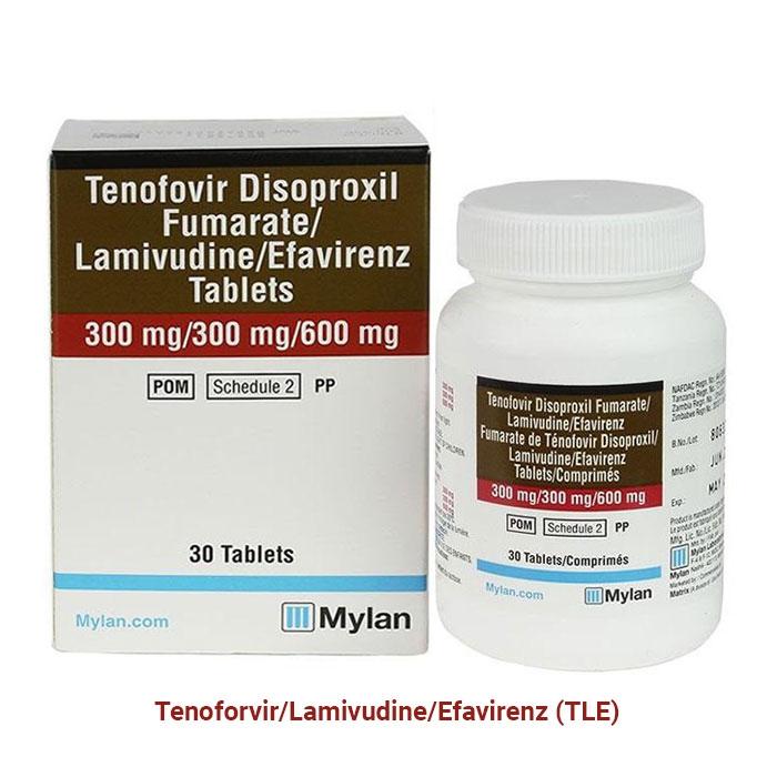 TLE của Mylan điều  trị HIV
