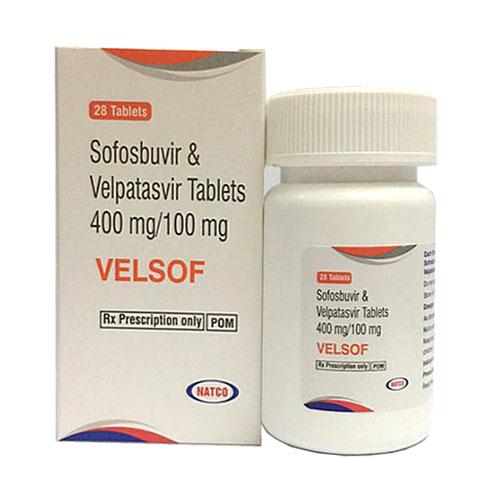 Velsof: tác dụng, liều dùng cho bệnh nhân viêm gan C