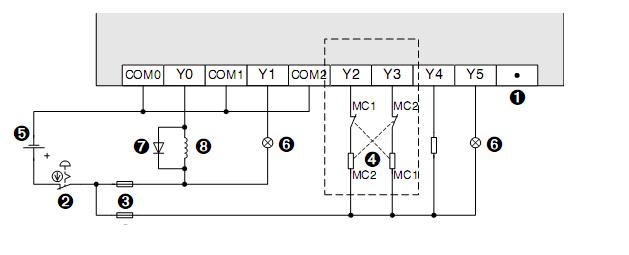 PLC-MITSUBISHI-FX1S-10MR-001-FX1S-10MT-001