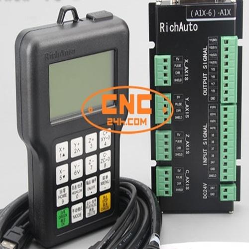 Bộ điều khiển máy CNC 4 trục cầm tay A18