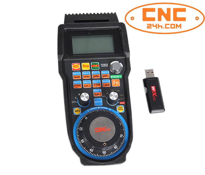 Bộ điều khiển cầm tay không dây HB04 cho Mach3