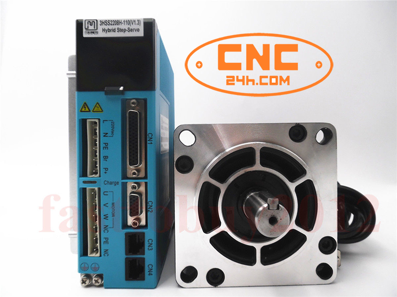 Động cơ Secvo JMC 20Nm Driver 3HSS2208H và động cơ 110J12190EC-1000