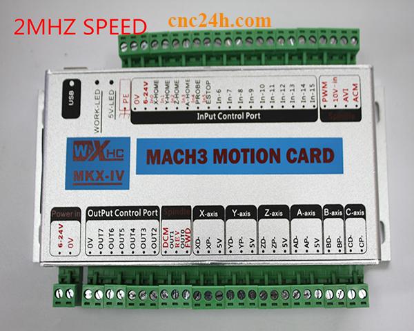 card điều khiển máy cnc 5 trục