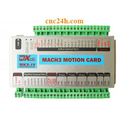 card máy cnc 6 trục
