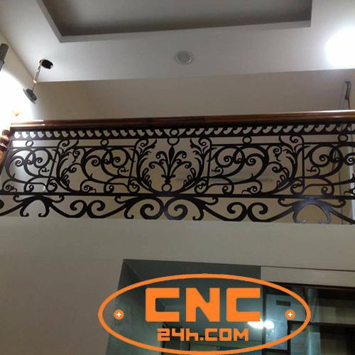 Cắt CNC lan can sắt tại Hà Nội