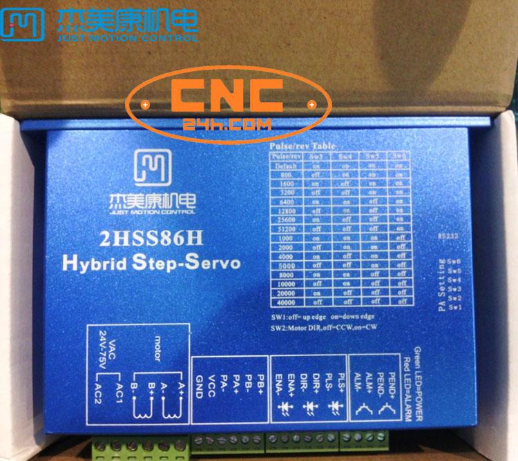 4Nm JMC Driver 2HSS86H + Động cơ 86J1880EC
