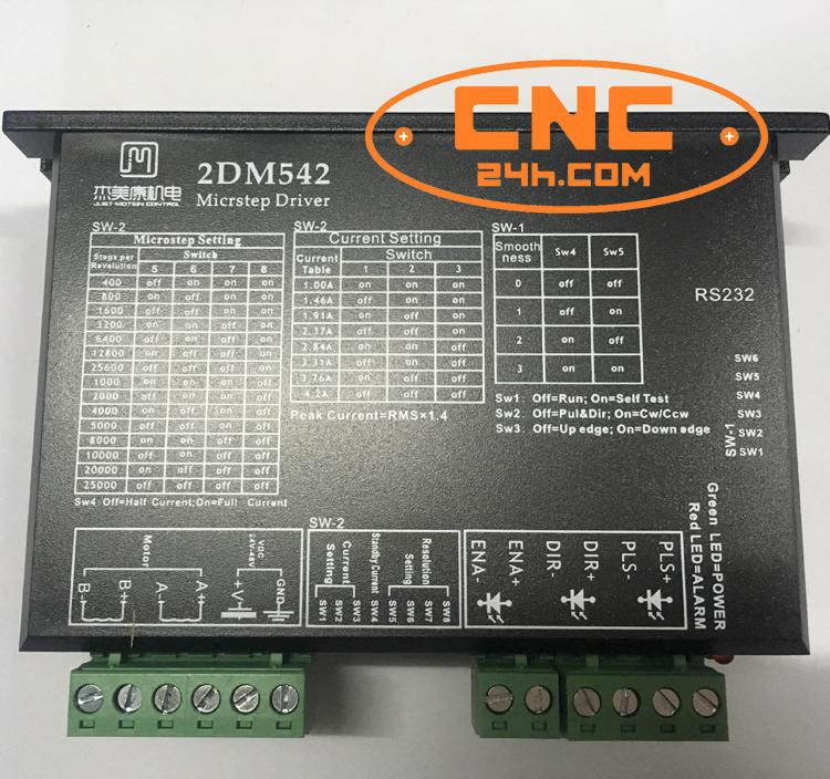 Driver động cơ bước 2DM542 JMC