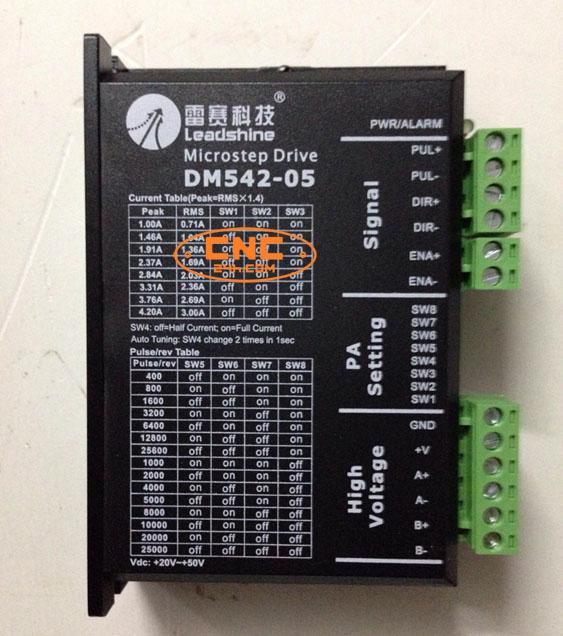 Điều khiển động cơ bước DM542-05 Leadshine