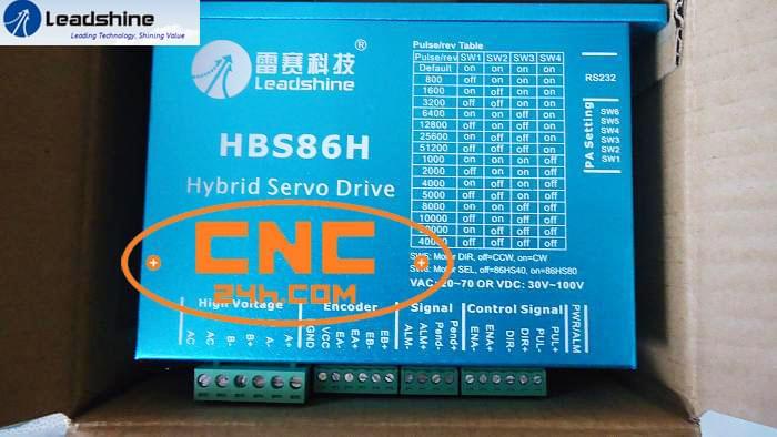 8Nm Leadshine Driver HBS86H + Động cơ 86HBM80
