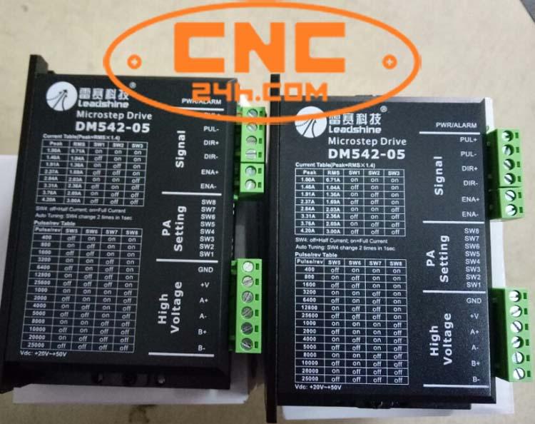 mạch điều khiển động cơ bước dm542-05 leadshine