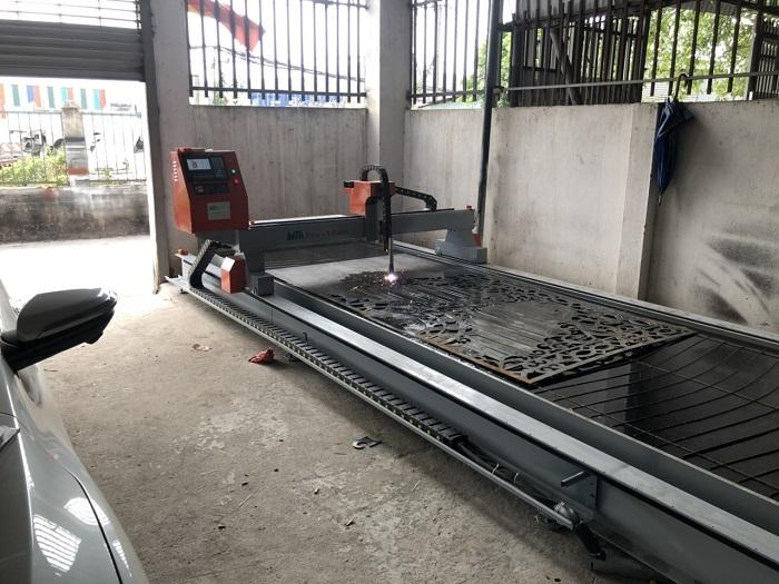 Lắp đặt máy cắt cnc plasma 1.5mx6m tại Đồng Nai