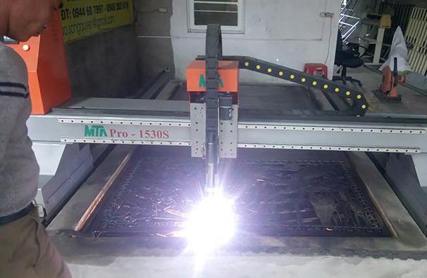 Lắp máy cnc plasma MTA Pro 1530S tại Nghi Xuân - Hà Tĩnh