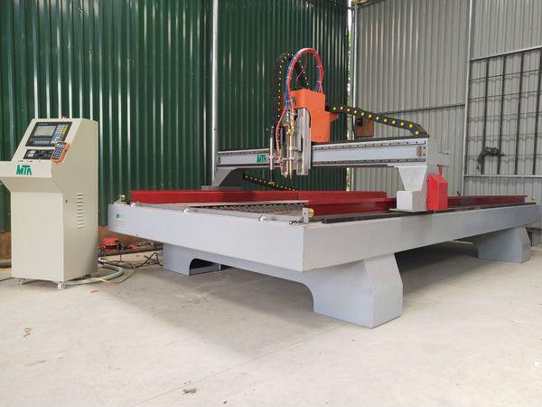 Máy cắt CNC Plasma-OxyGas