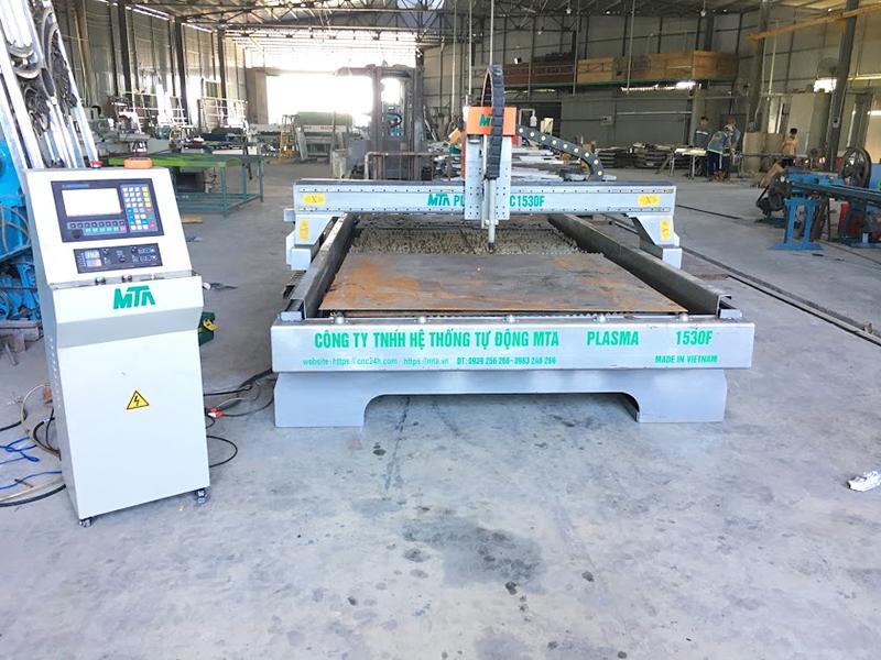 Máy cắt hoa văn mỹ thuật Plasma CNC
