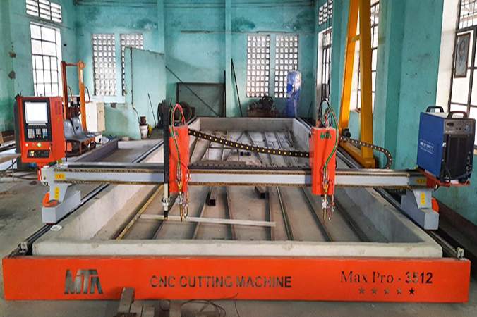 Máy cắt Plasma CNC công ty MTA