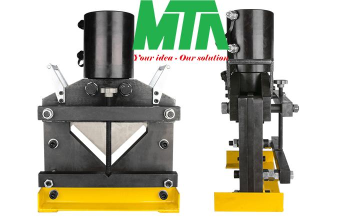 máy cắt thép góc V thủy lực