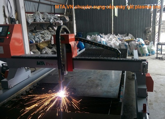 MTA lắp máy plasma cnc tại Đoan Hùng - Phú Thọ