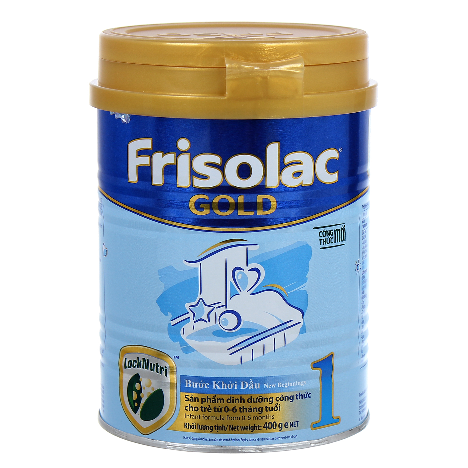 Sữa bột Frisolac Gold