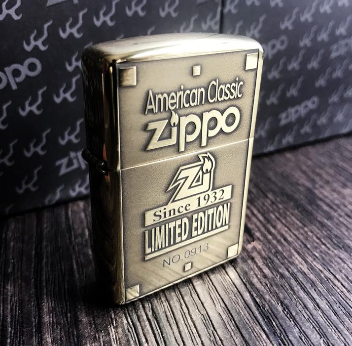 Zippo Armor 1932 giới hạn 1000 con đồng thau 1