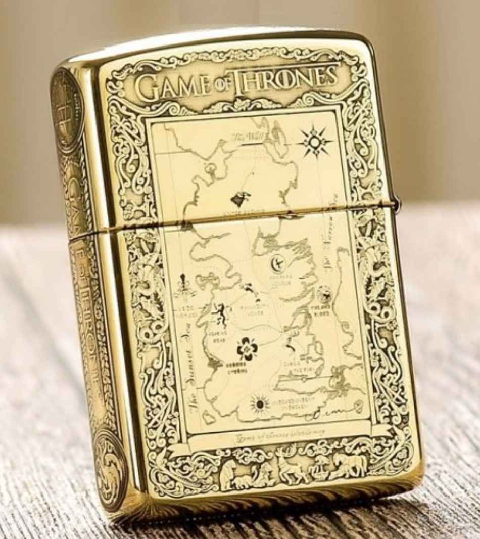 zippo mỹ game of throne