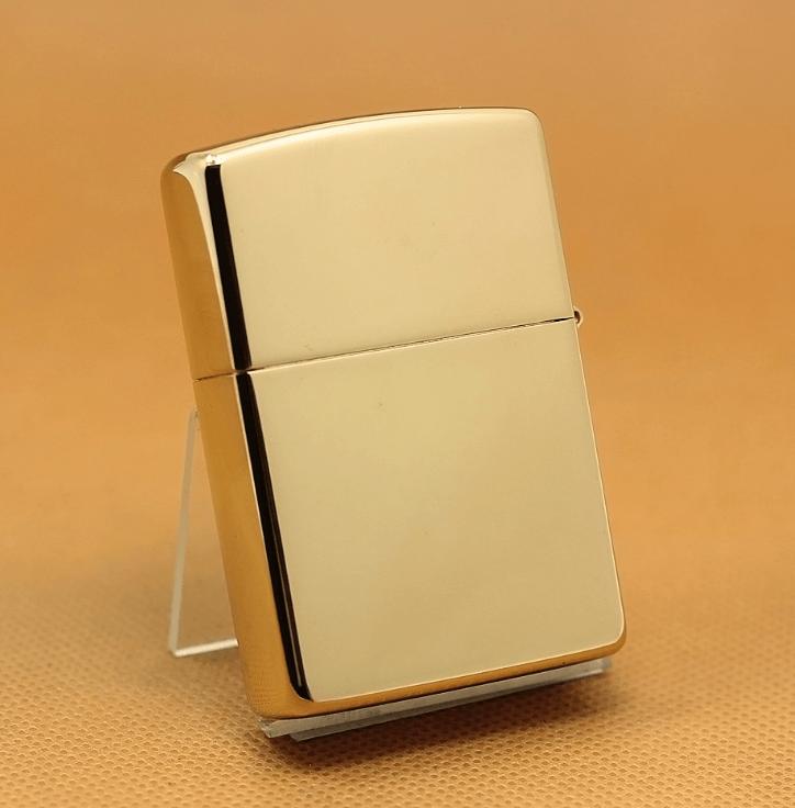 Zippo Phật mạ vàng 24k